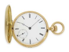 Pocket watch: historically interesting Patek Philippe pocket watch No. 7114, one of the earliest