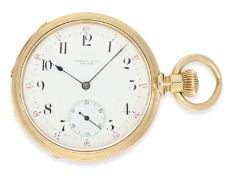 Pocket watch: very early and rare A. Lange & Söhne man's pocket watch of best quality 1A,