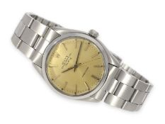 Wristwatch: Rolex Air King Ref. 5500 from 1981, delivery from original ownerCa. Ø34.5mm, stainless