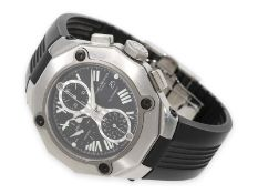"Wristwatch: extravagant high-quality and very sportive diver's chronograph, ""Riviera"" by Baume &"