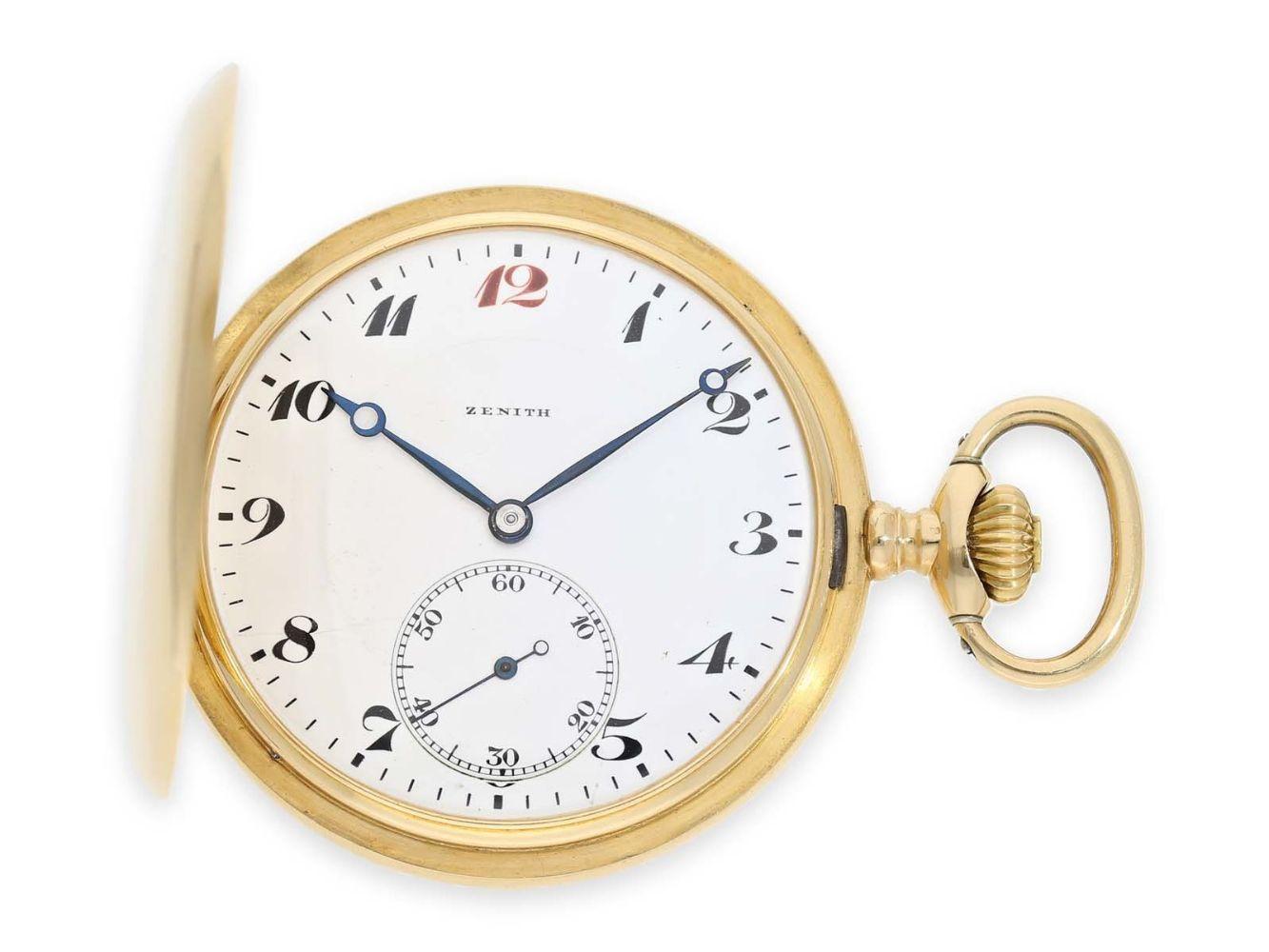 177th Auction: Fine Pocket- & Wristwatches