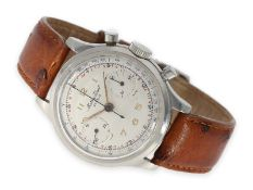 Wristwatch: rare stainless steel chronograph, Mathey-Tissot, ca. 1960Ca. Ø35.5mm, stainless steel,