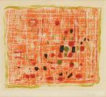Lot 5 - Roger Bissière1886 Villeréal - 1964 Boissirette - Ohne Titel - Farbige Aquatintaradierung/Papier.