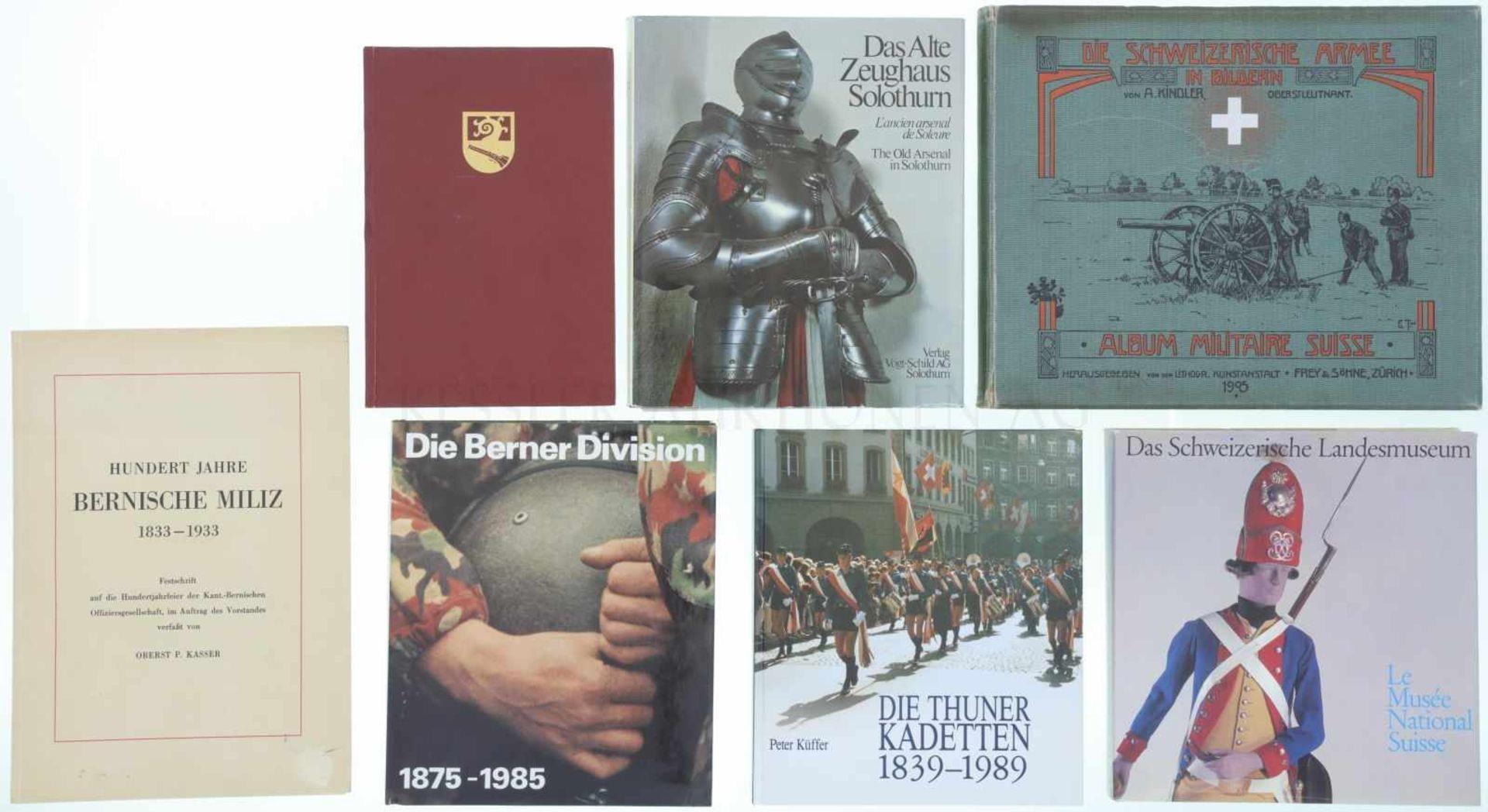 Konvolut 7 Bücher 1. Vom Langbogen zum Sturmgewehr - Geschichte des Wehr- und Schiesswesens im