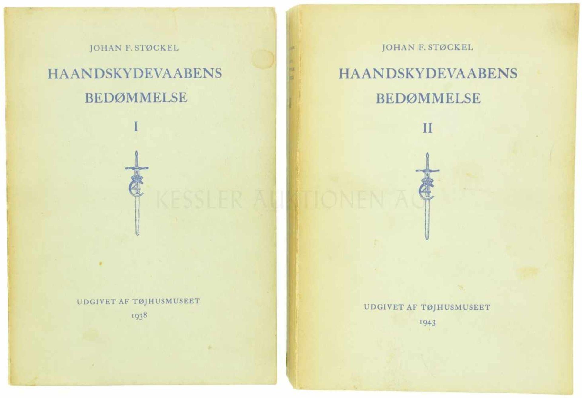 """Konvolut von 2 Büchern """"Stöckel"""" Autor Johan F. Stöckel, Band 1 (1938) und Band 2 (1943). Zustand"""