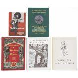 Konvolut von 5 Büchern zum Schweizer Schiesswesen 1. Die Schiesskunst von K. Zimmermann, Luzern,