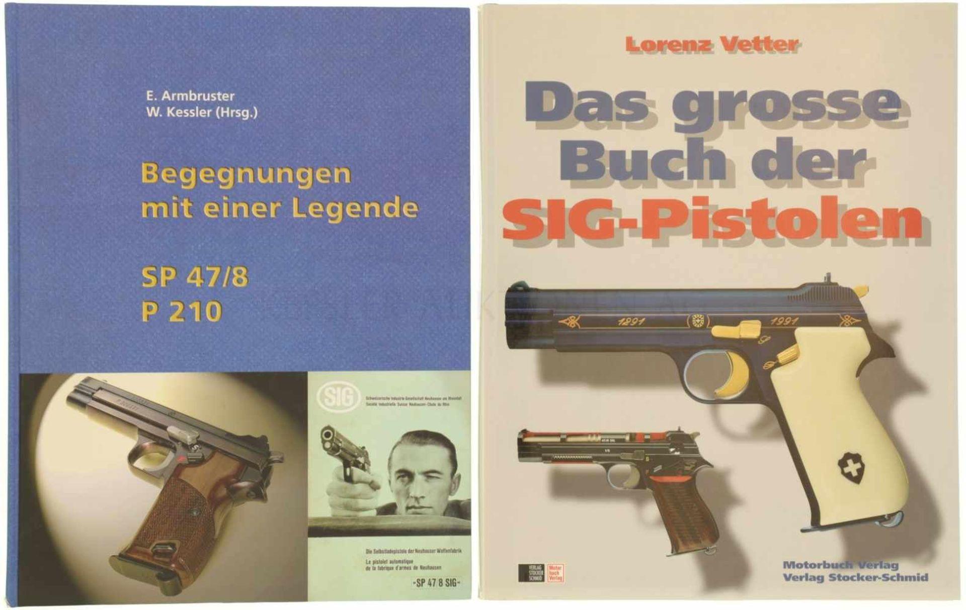 Konvolut von 2 Büchern 1. Begegnungen mit einer Legende, SP 47/8 P 210. Erwin Armbruster