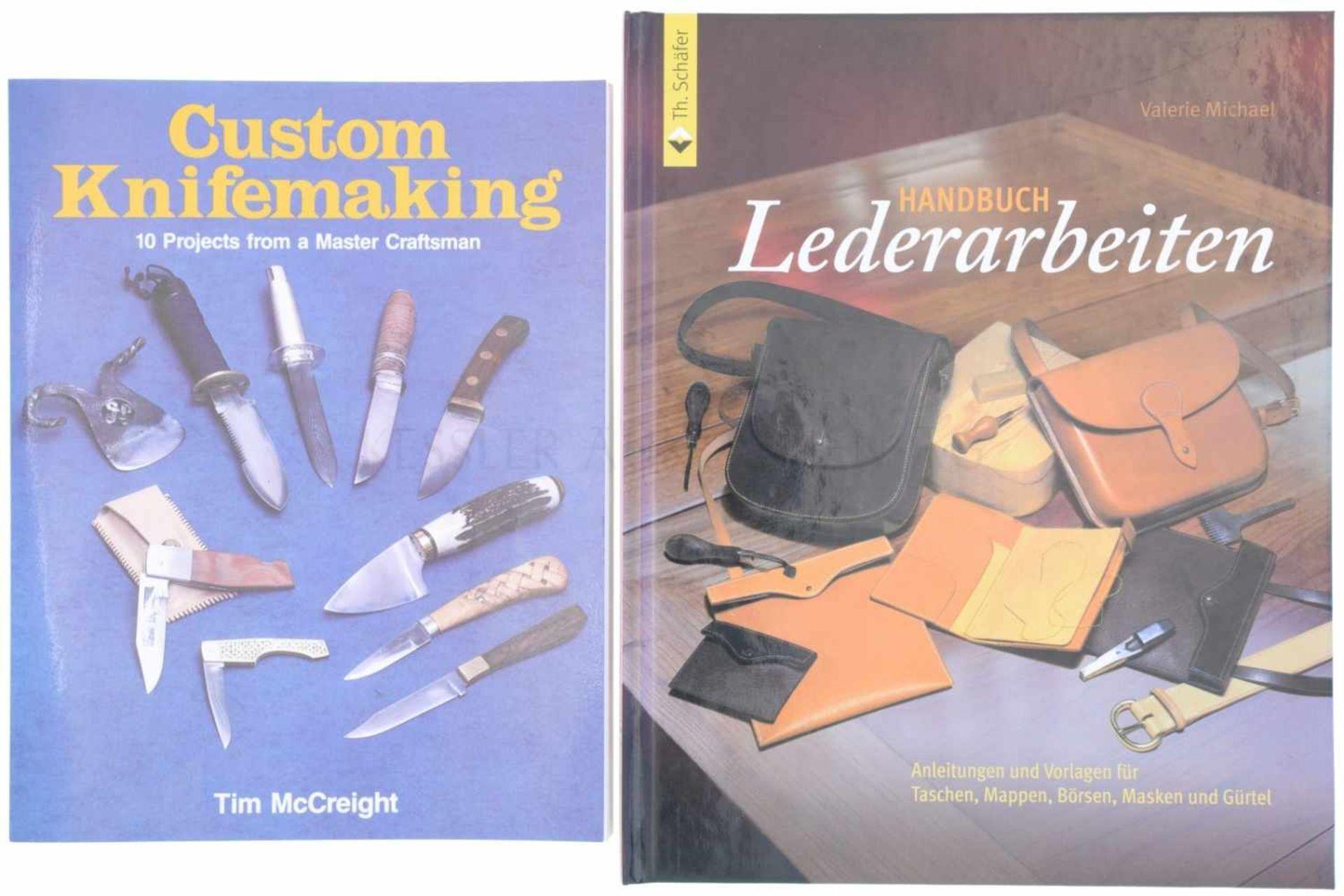 Los 52 - Konvolut von 2 Büchern, Messer / Holster selber machen 1. Custom Knifemaking, Tim Mc.Creight, 10