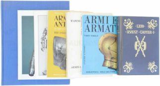 Konvolut von 7 Büchern 1. Wapens en Wapenrustingen / Armes et Armures anciennes, 1968, Verlag Druk