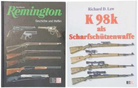 Konvolut von 2 Büchern 1. K98k als Scharfschützenwaffe, Autor Richard D. Law, Verlag Stocker-Schmid,
