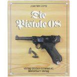 Die Pistole 08 Autor Joachim Görtz, Verlag Stocker-Schmid AG. Die spannende Geschichte der Pistole