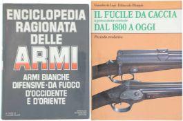 Konvolut von 2 Büchern 1. Enciclopedia Ragionata Delle Armi, Armi Bianche Difensive, Da Fuoco D'