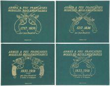 "Konvolut von 4 Bänden ""Armes a Feu Francaises, Modeles Reglementaires"" 2 Bände 1717 - 1836, 2"