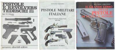 Konvolut von 3 Büchern 1. Il Grande Libro Delle Pistole Di Tutto Il Mondo, Storia modelli