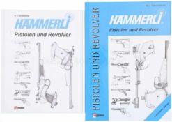 """Konvolut von 2 Büchern """"Hämmerli, Pistolen und Revolver"""" Autor N.U. Schweinfurth, VS Medien GmbH. 1."""