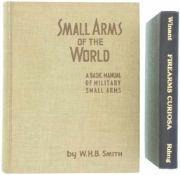 Konvolut von 2 Büchern 1. Firearms Curiosa, Autor Lewis Winant, New York St. Martin's Press Inc.,