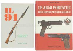 Konvolut von 2 Büchern 1. Il 91, Autoren Simone, Belogi und Grimaldi, Editrice Ravizza, 1970. 2.