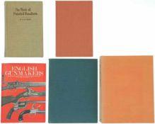 Konvolut von 5 Büchern 1. The Revolver, 1889-1914, Autor A.W.F. Taylerson, Barrie&Jenkins Verlag