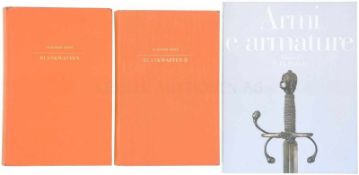 Konvolut von 3 Büchern Blankwaffen 1. Blankwaffen I, Autor Heribert Seitz, Verlag Klinkhardt&