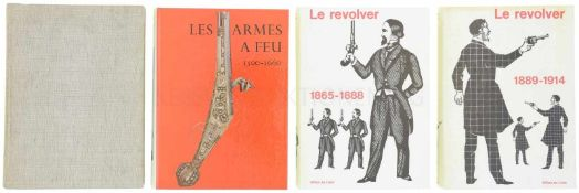 Konvolut von 4 Büchern 1. Les Armes A Feu Anciennes, 1500-1660, Autor J.F. Hayward, Office du