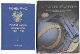 Konvolut von 2 Büchern 1. Preussisch-reichsdeutsche Bajonette und aufpflanzbare Seitengewehre,