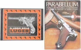 Konvolut von 2 Büchern 1. Il Libro delle Luger, Autor Charles Kenyon Jr., Verlag Hobby&Work, in