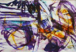 "Mischtechnik - Cornelius Richter (1944 Egger - 2014 Bad Reichenhall) ""Abstrakte Komposition"", l.o."