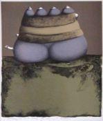 "Farblithographie - Günter Dollhopf (1937 Nürnberg - 2018 Amberg) ""Ohne Titel"", l.u."