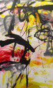 """Gemälde - Cornelius Richter (1944 Egger - 2014 Bad Reichenhall) """"Abstrakte Komposition"""", u.M."""