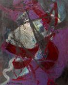 """Gemälde - Cornelius Richter (1944 Egger - 2014 Bad Reichenhall) """"Abstrakte Komposition"""", l.u."""