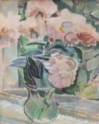 """Aquarell - Willi Ulfig (1910 Breslau - 1983 Regensburg) """"Blumenstillleben"""", r.u. signiert,"""