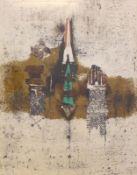 "Farblithographie - Johnny Friedlaender (1912 Pless - 1992 Paris) ""Abstrakte Komposition"", r.u."