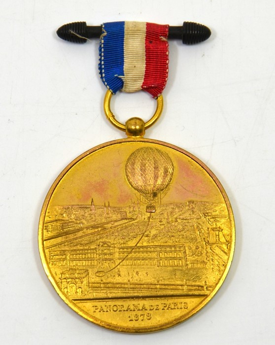 Lot 545 - World Medals, France, `Panorama De Paris 1878'