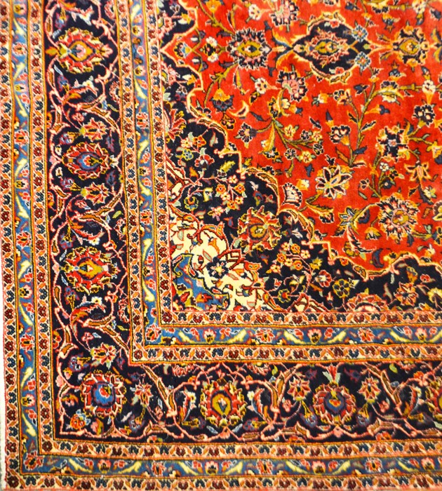 Lot 319 - A large Persian style rug