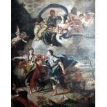 Dido und AeneasÖl/Leinwand. Darstellung des Liebespaares Dido und Aeneas, dessen Geschichte vom
