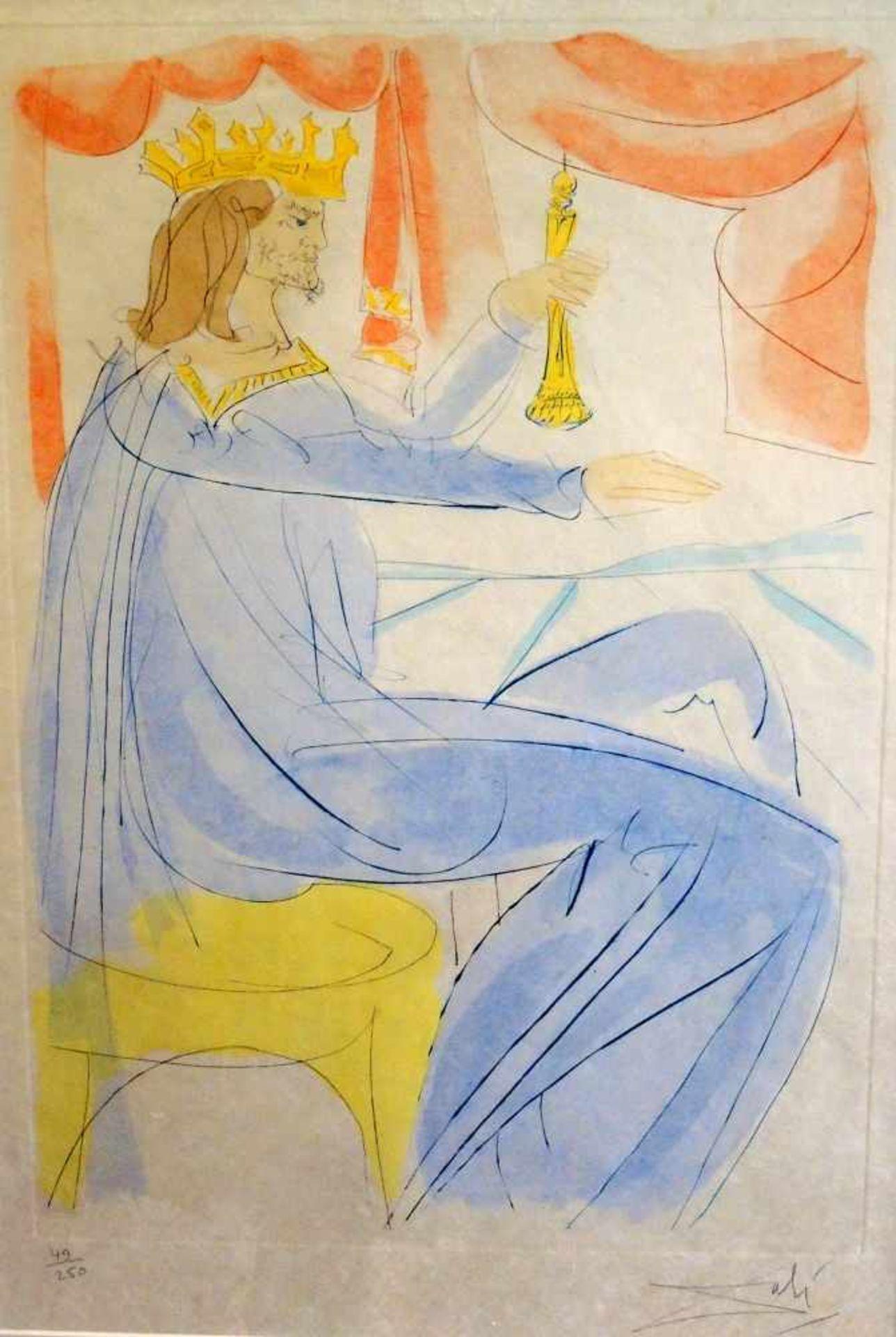 Salvador Dalí, 1904 Figueres - 1989 ebendaAls Hauptvertreter des in den 1920er- Jahren