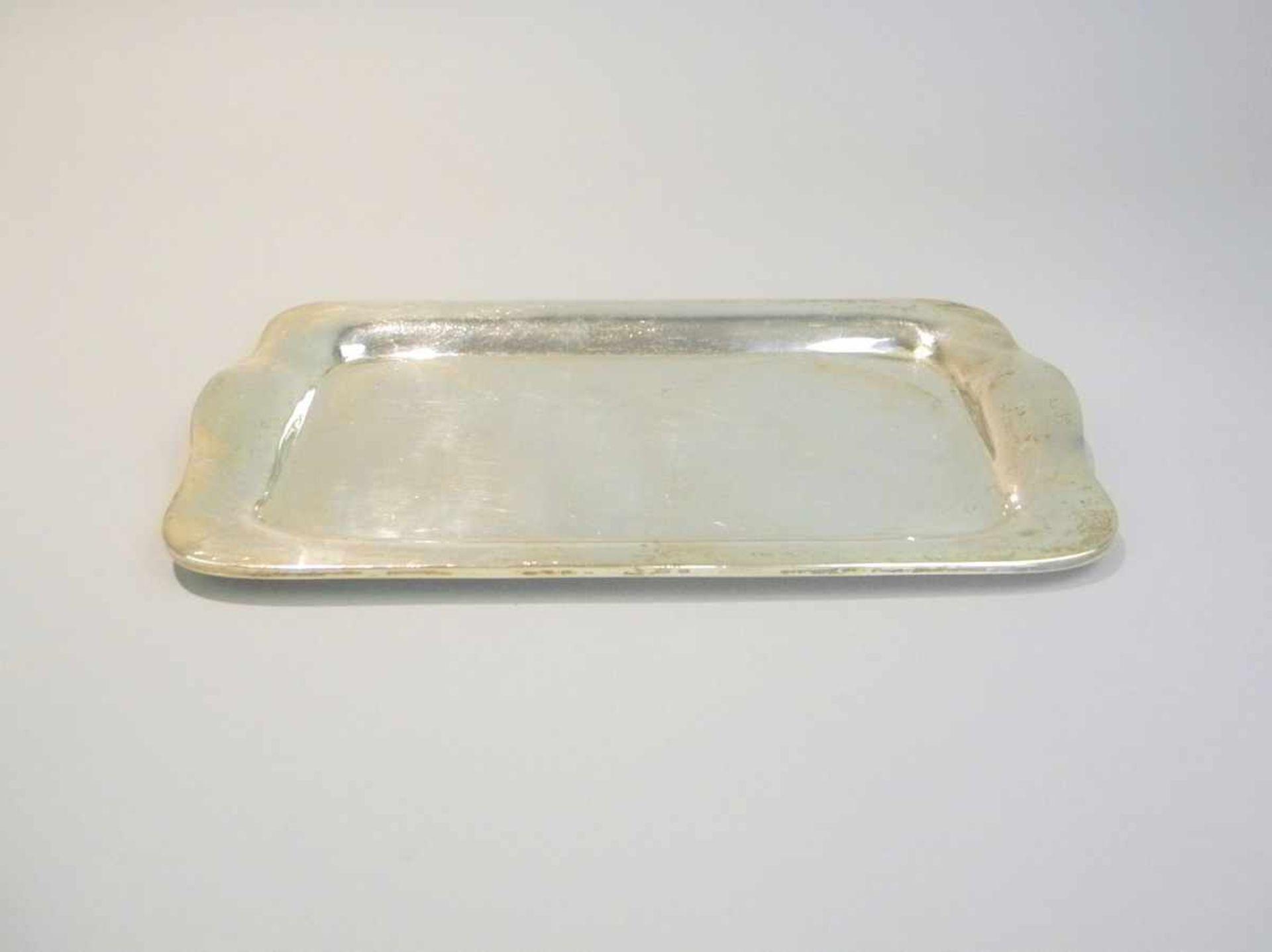 Los 47 - Kleines Silber-TablettSterling Silber 925, am Boden mit Feingehalt, mexikanischer Stadtmarke und