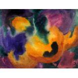 Herbert Beck, 1920 Leipzig - 2010 TegernseeAls Autodidakt begann der deutsche Aquarellmaler Beck