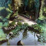 Maurice Chataignier1941Tropical GardenOil on canvas; H 100 mm, W 100 cm; signed lower right ''