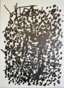 Georg Baselitz, Plate 1 aus: Suite '45, sign. Lithographie von 1990, o. Rahmen Georg Baselitz, *1938