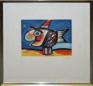 Otmar Alt, Sammlungsnachlass aus 3 großen Serigraphien/Lithographien & einer Farbradierung, 1972–94,