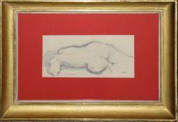 Josef Steiner, Zwei Frauenakte und Frauenaktstudien, 3 Kohlezeichnungen, 1x datiert 1919, gerahmt