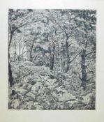 Josef Steiner, Landschaften und Pferde bei der Arbeit, 4 Radierungen, gerahmt Josef Steiner,