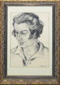 """Josef Steiner, Zwei Frauenportraits u. """"Meine Mutter"""", Zeichnung u. 2 Radierungen,1927 u. 1923,"""