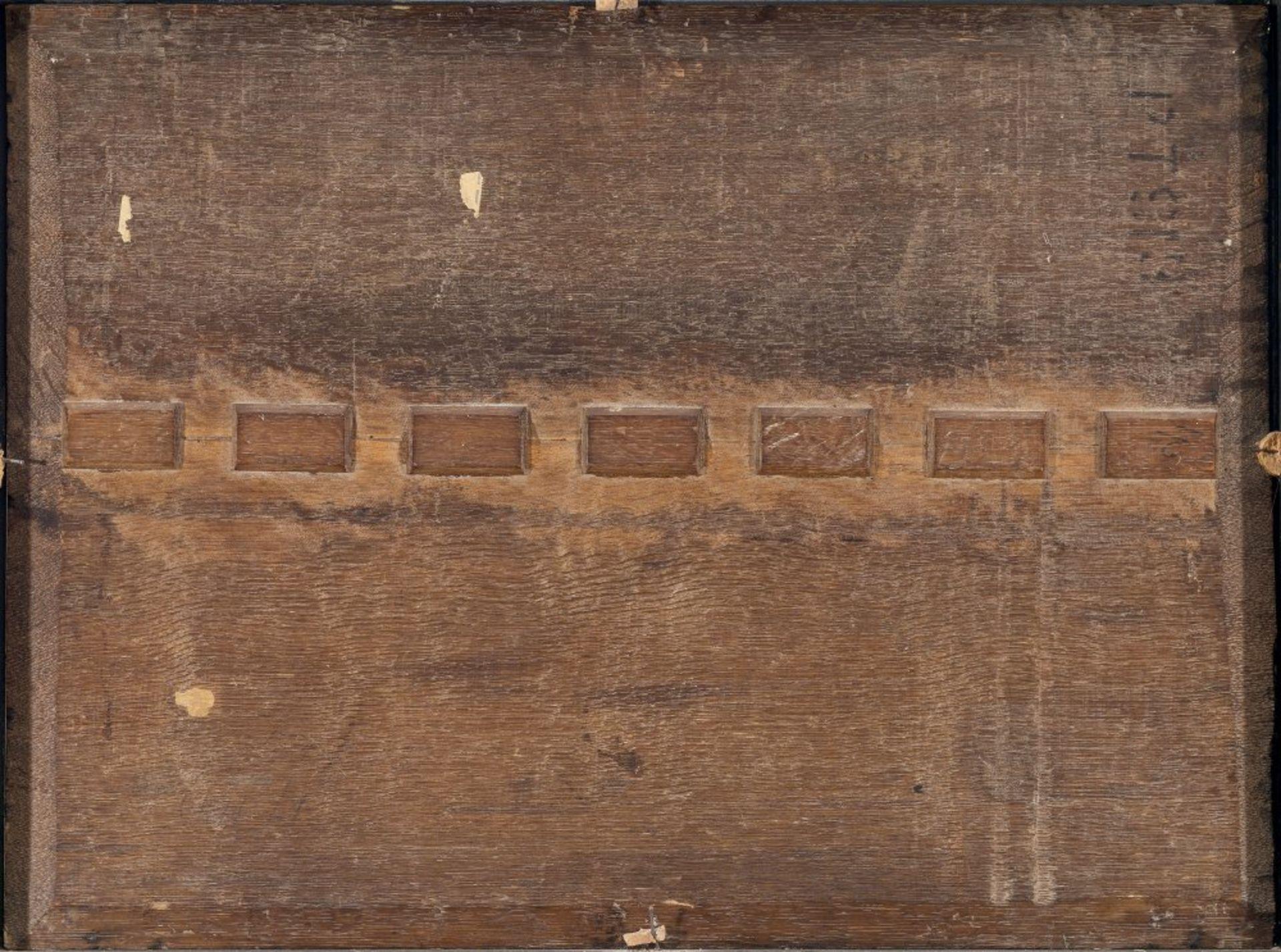 Dalens, Dirk, zugeschriebenDer Valkhof von Nijmegen. Diagonal von rechts in die Bildtiefe - Bild 2 aus 2