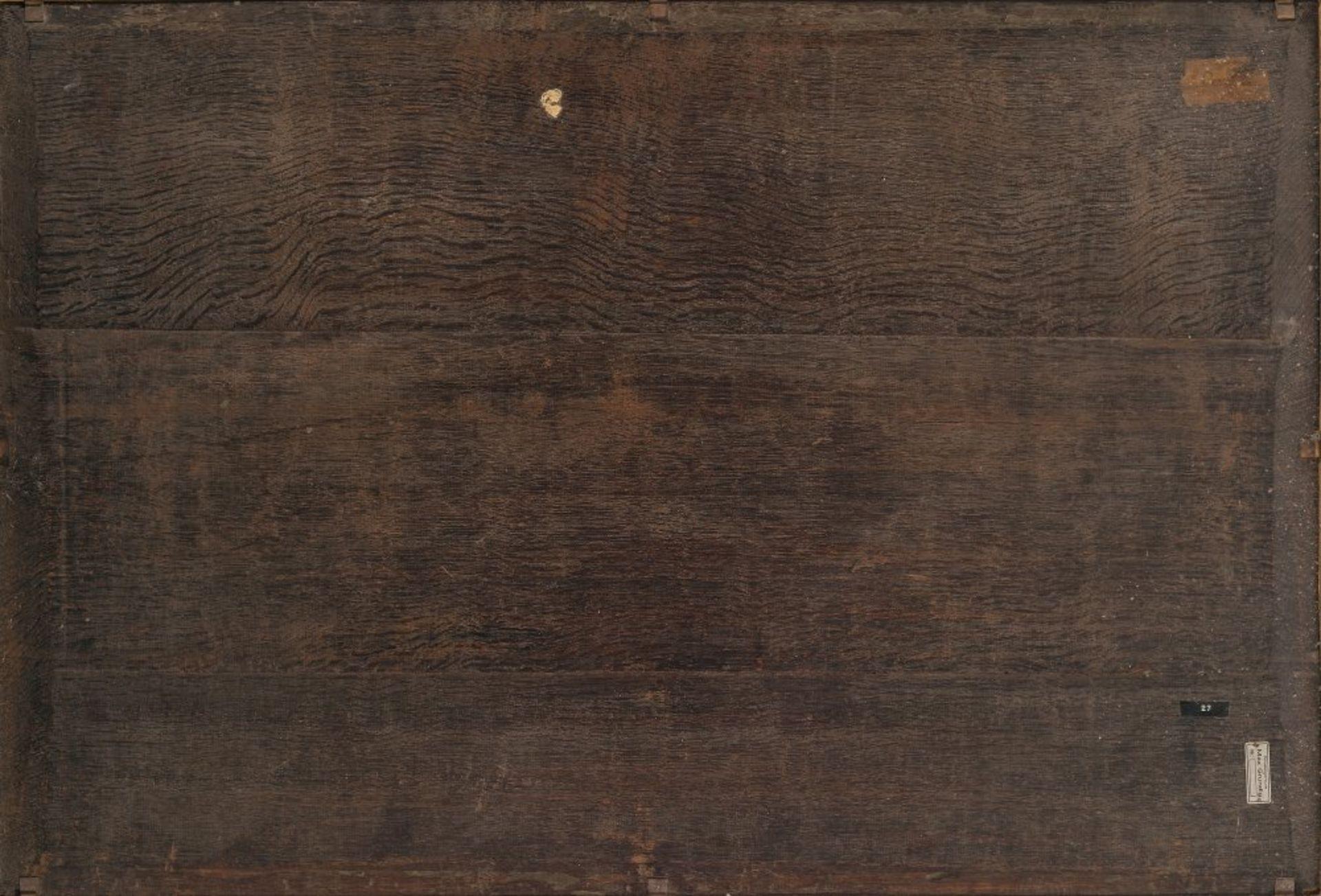 Palamedesz, PalamedesReitergefecht. Öl/Holz. 73 x 107 cm. Sign.Palamedesz, PalamedesEquestrian - Bild 2 aus 3