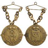 Lot 3243 - Village Elders Badge Alexander II, instituted in 1861
