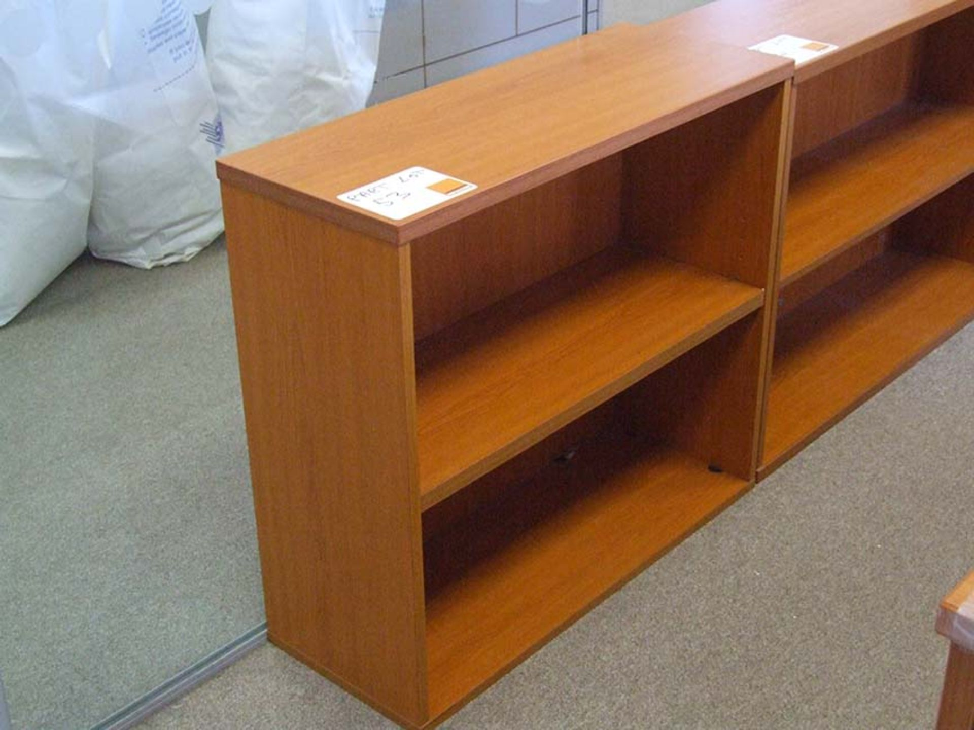 Lot 53 - 2 low Bookcases each 800 wide