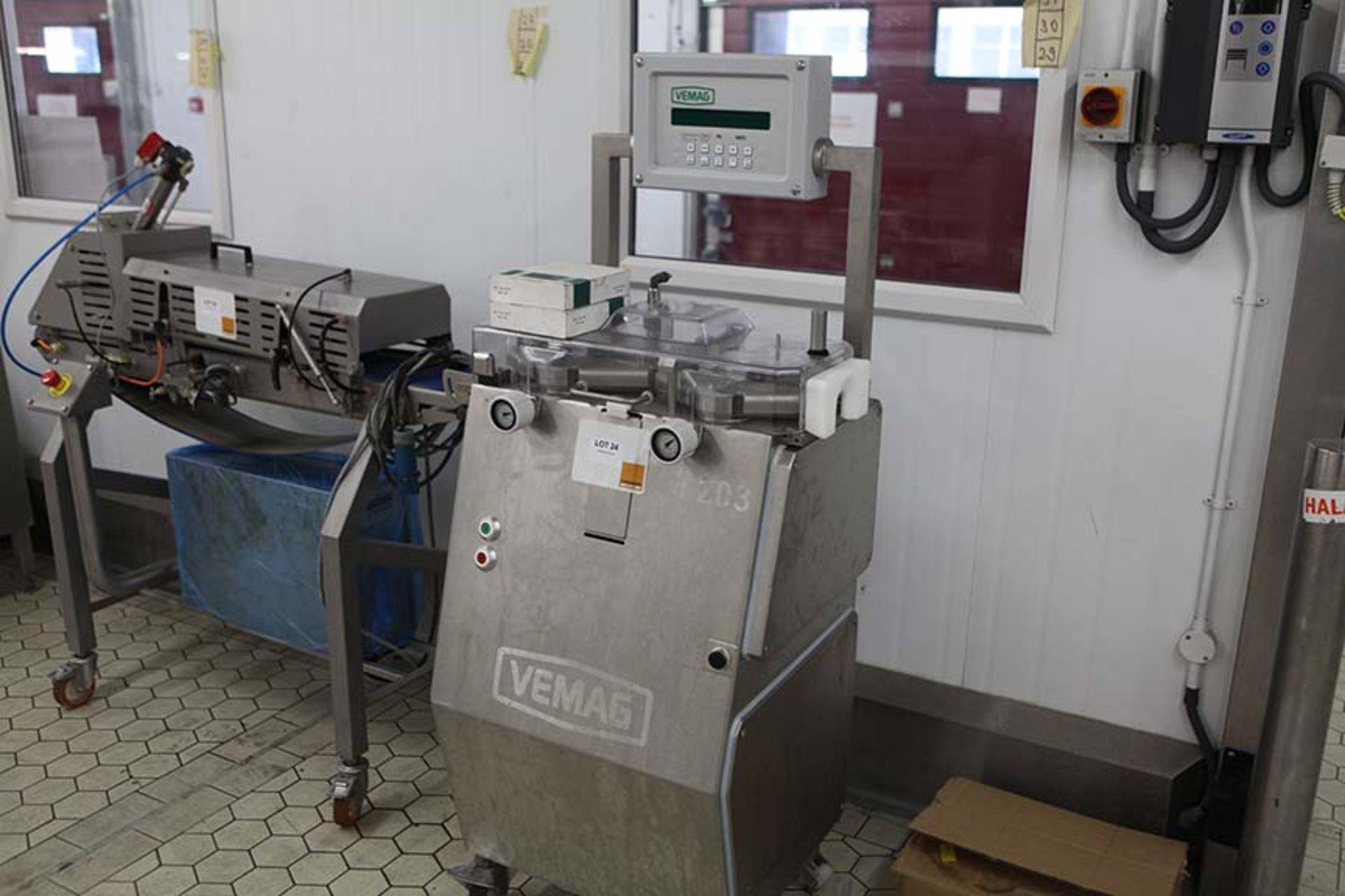 Lot 24 - VEGMAG TM203 Sausage Link Cutter Sn 2030555