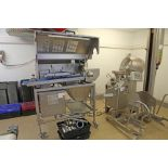 Lot 2 - VEMAG Robot 500 Vacuum Portioner Sn 1284354 with VEMAG PC878 Portion controller to create a burger